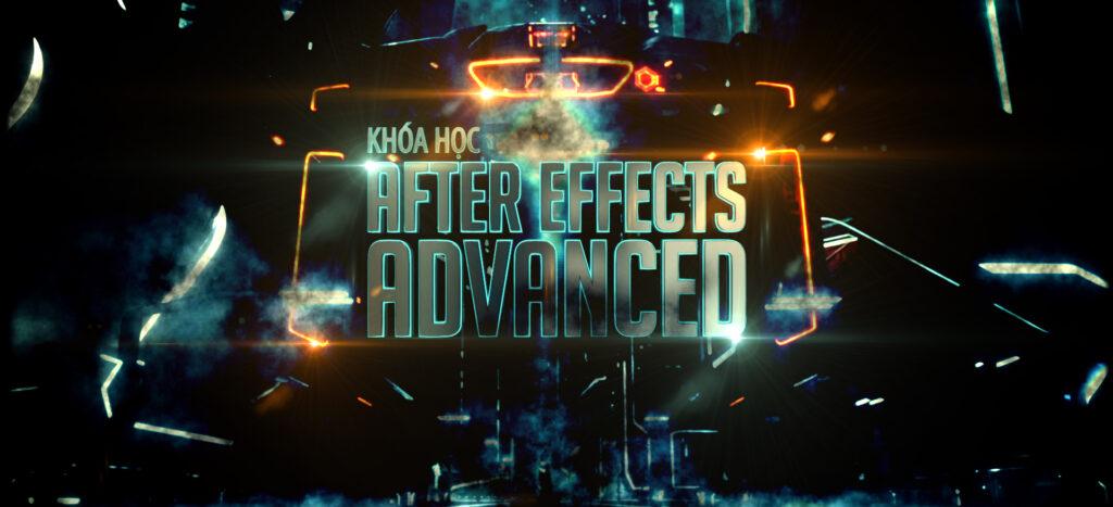 Khóa học đào tạo Affter Effect nâng cao1