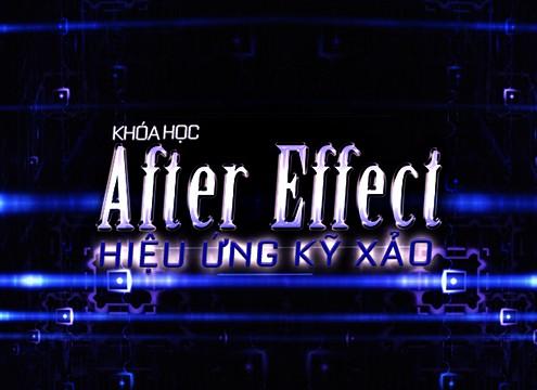 Khóa học đào tạo Affter Effect nâng cao4