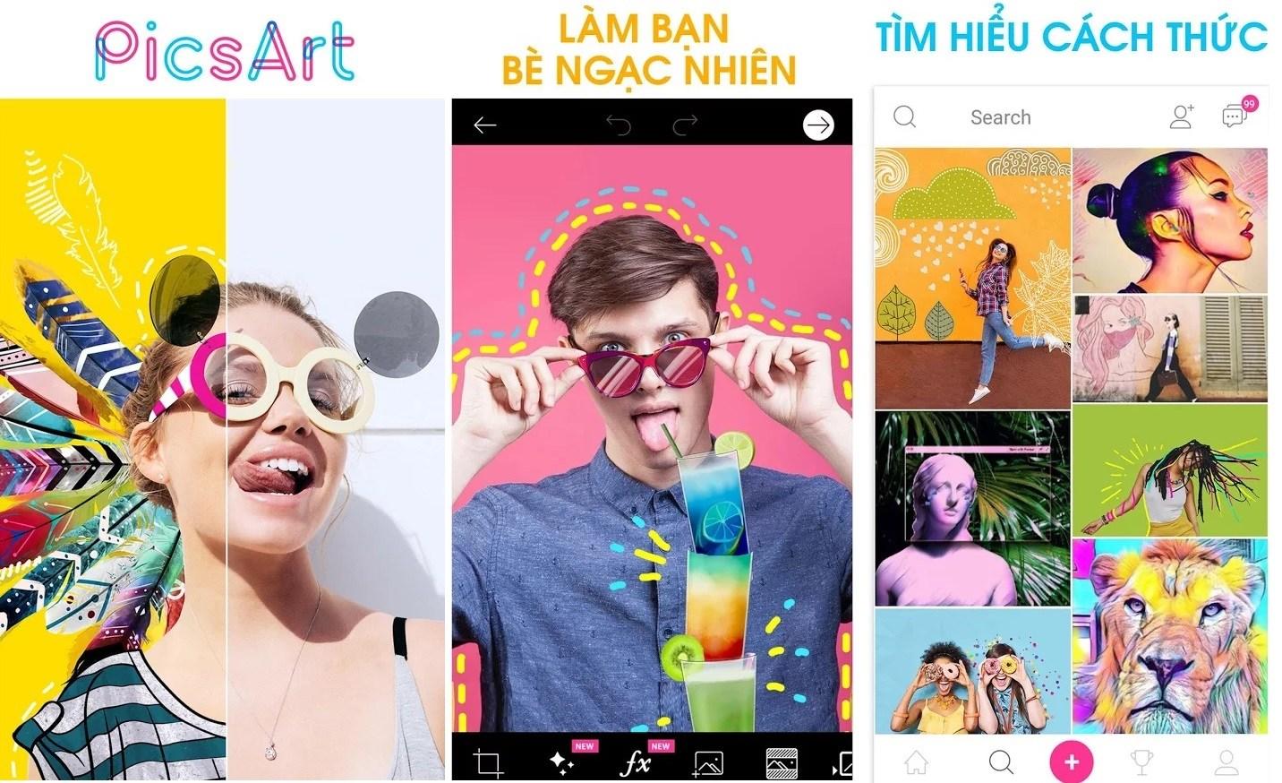 Phần mềm ghép ảnh trên điện thoại Android